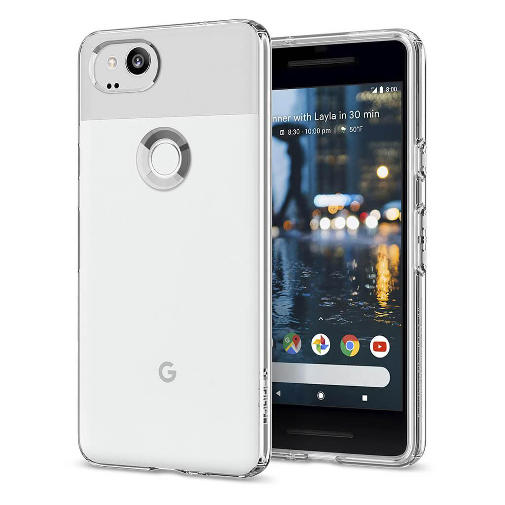 Spigen® Liquid Crystal™ F16CS22272 Google Pixel 2 Case - Crystal Clear