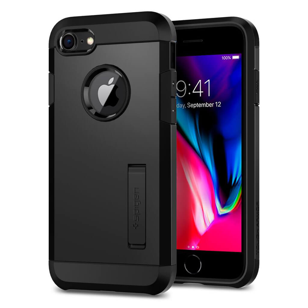 Spigen® Tough Armor™ 2 054CS22216 iPhone 8 / 7 Case - Black