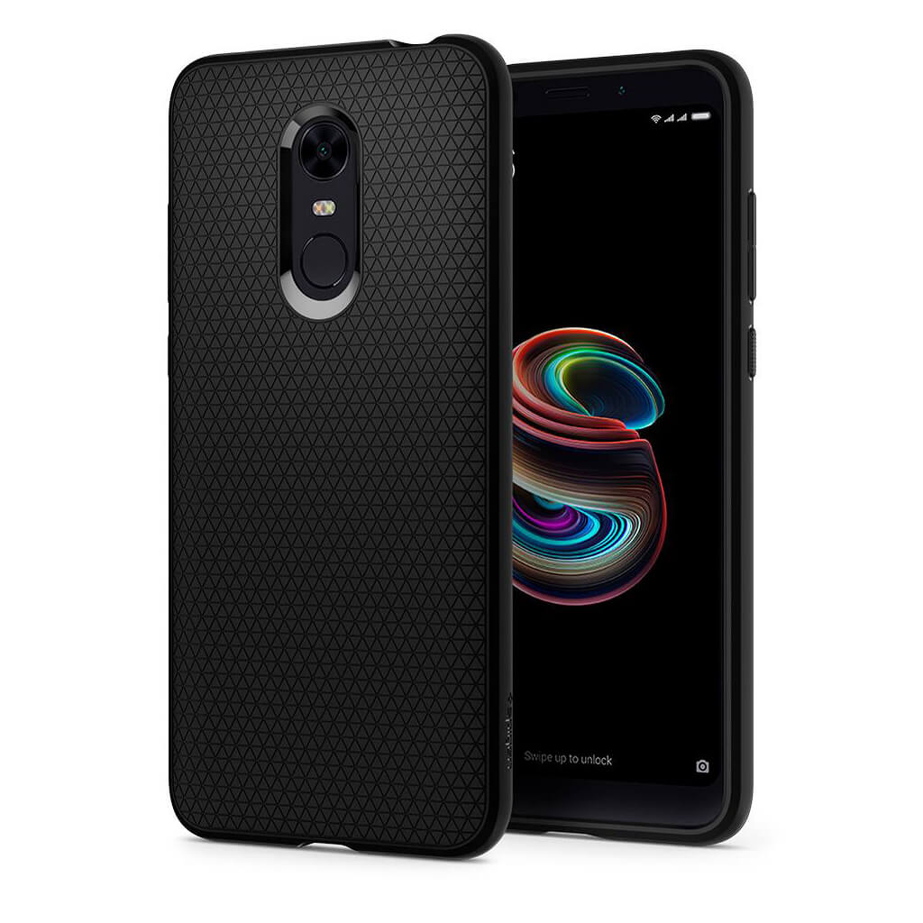 Spigen® Liquid Air™ S10CS23176 Xiaomi Redmi 5 Plus Case - Black