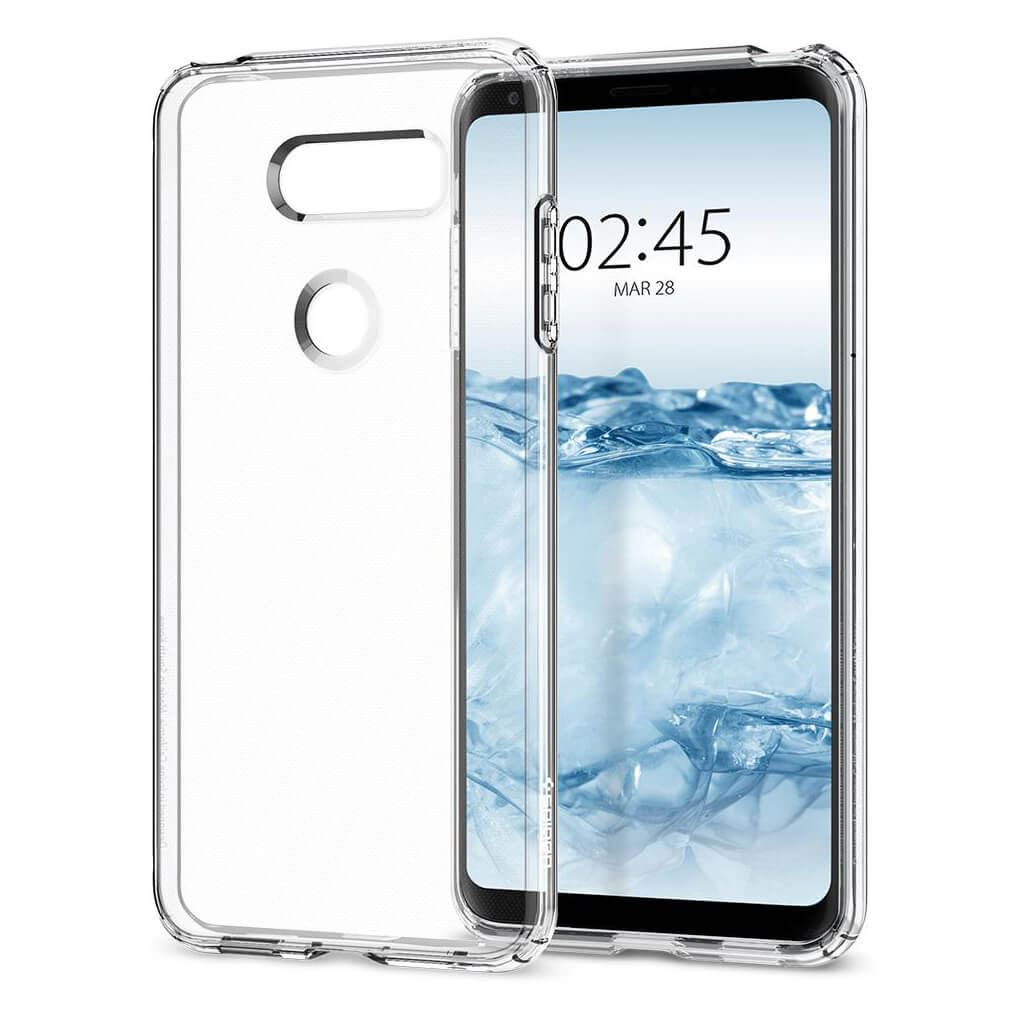 Spigen® Liquid Crystal™ A25CS21981 LG V30 Case - Crystal Clear