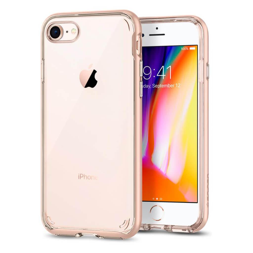 Spigen® Neo Hybrid Crystal™ 2 054CS22569 iPhone 8 / 7 Case - Blush Gold