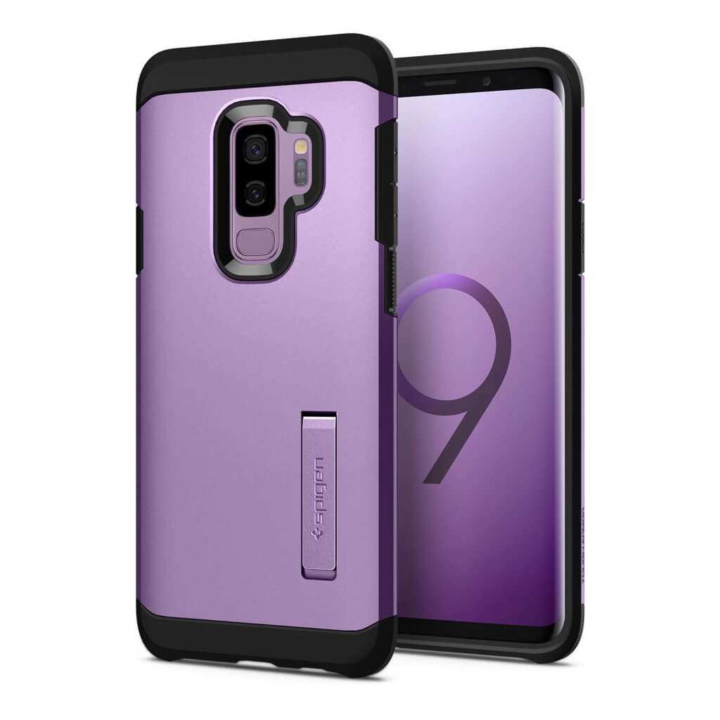Spigen® Tough Armor™ 593CS22936 Samsung Galaxy S9+ Plus Case - Lilac Purple