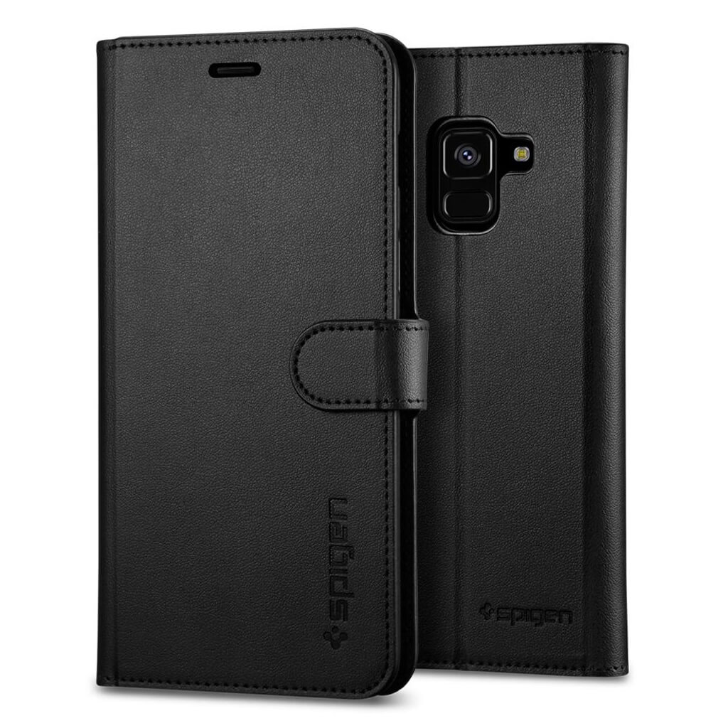 Spigen® Wallet S™ 590CS22756 Samsung Galaxy A8 (2018) Case - Black