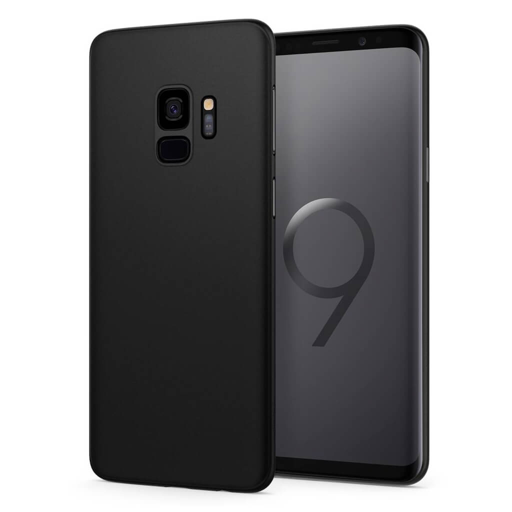 Spigen® AirSkin™ 592CS22867 Samsung Galaxy S9 Case - Black