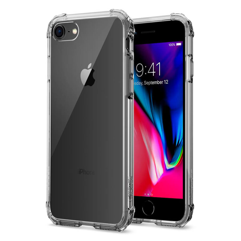Spigen® Crystal Shell™ 042CS20307 iPhone 8 / 7 Case - Dark Crystal