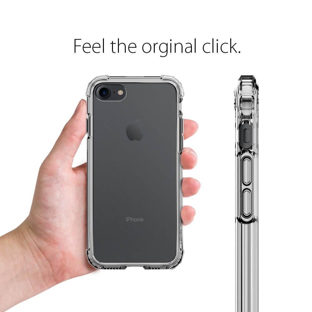 Spigen® Crystal Shell™ 042CS20307 iPhone 8 / 7 Case - Dark Crystal