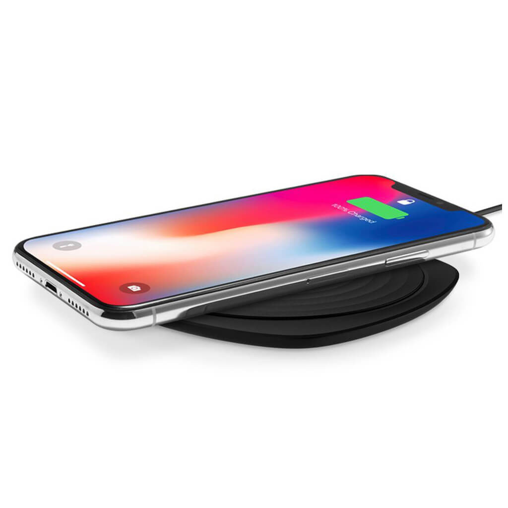 Spigen® Essential® F305W 000CH22617 Qi Fast Wireless Charger - Black