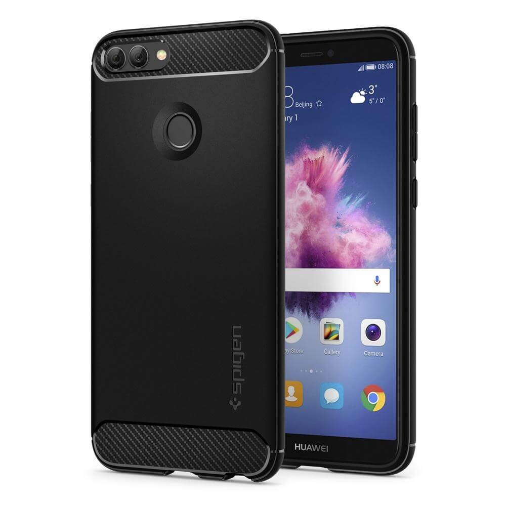 Spigen® Rugged Armor™ L24CS23183 Huawei P Smart Case - Black