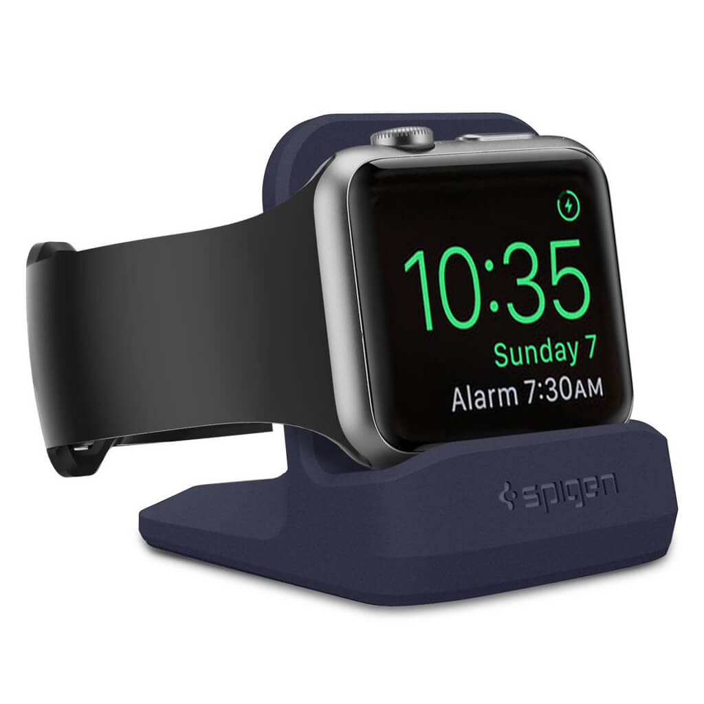 Spigen® S350 000CD21182 Apple Watch Series 3/2/1 (42mm/38mm) Stand - Midnight Blue
