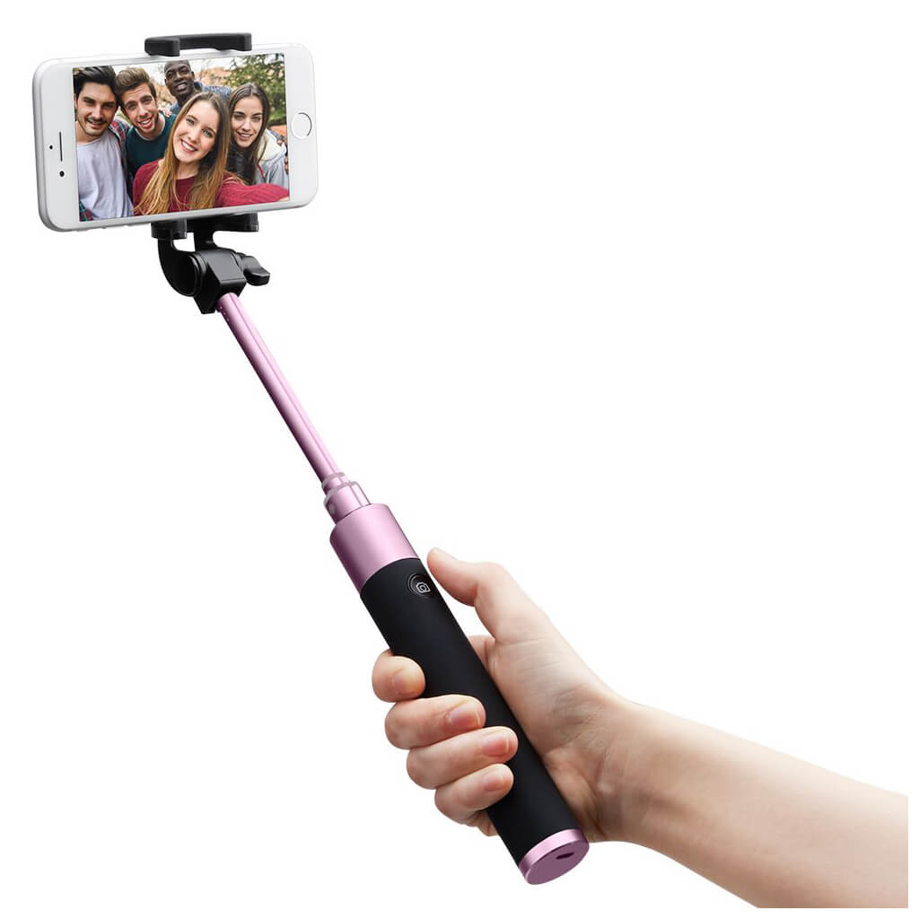Spigen® S530W 000SS21747 Bluetooth Selfie Stick - Rose Gold