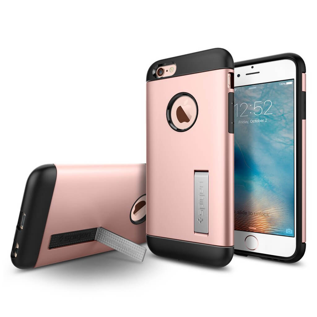 Spigen® Slim Armor™ SGP11723 iPhone 6 / 6s Case - Rose Gold