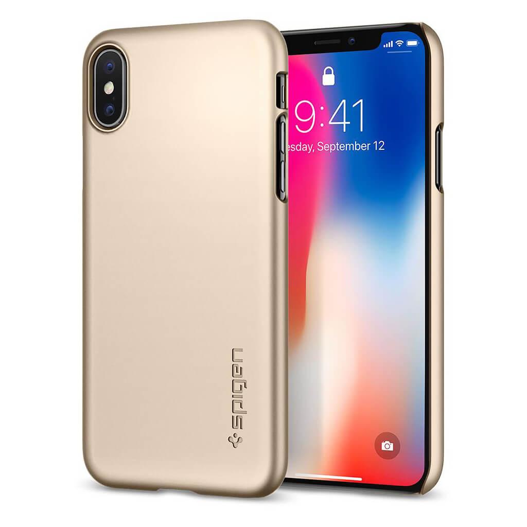 Spigen 174 Thin Fit 057cs22111 Iphone Xs X Case