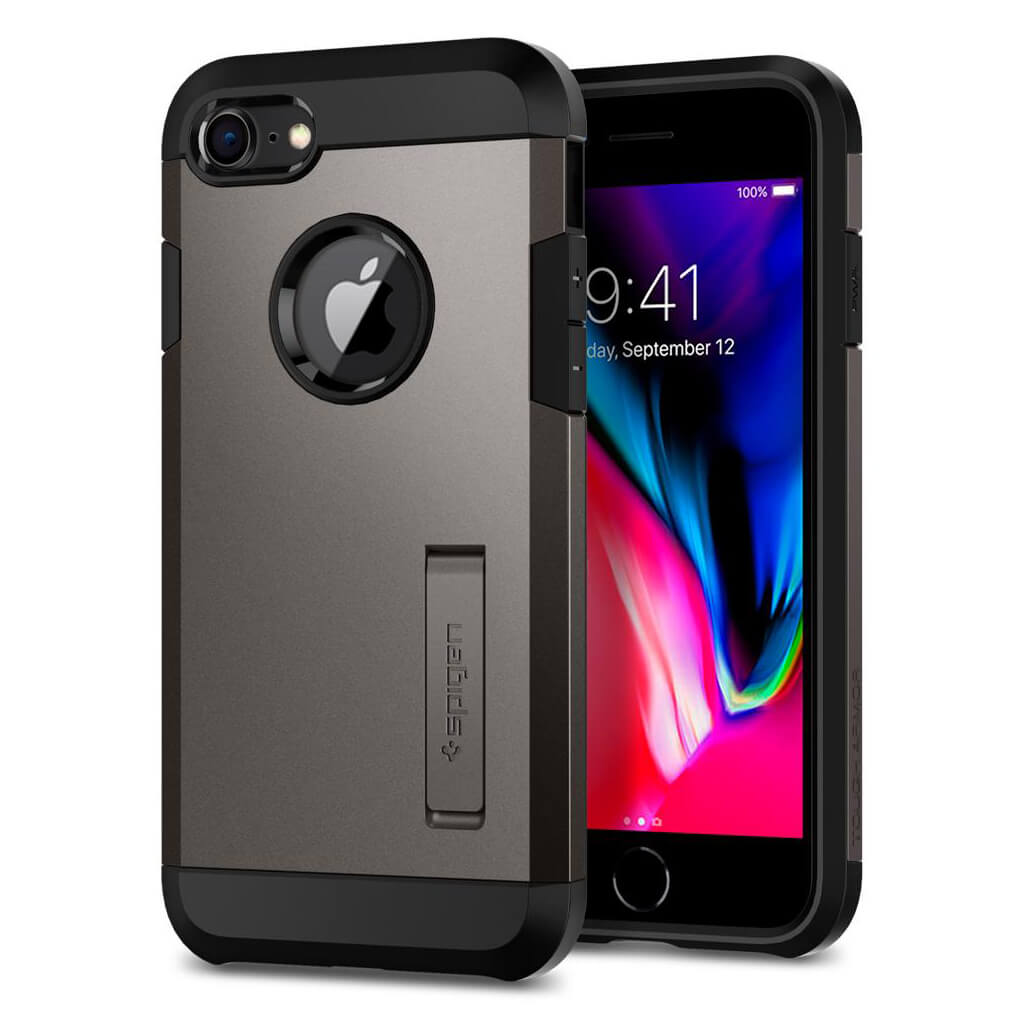 Spigen® Tough Armor™ 2 054CS22214 iPhone 8 / 7 Case - Gunmetal