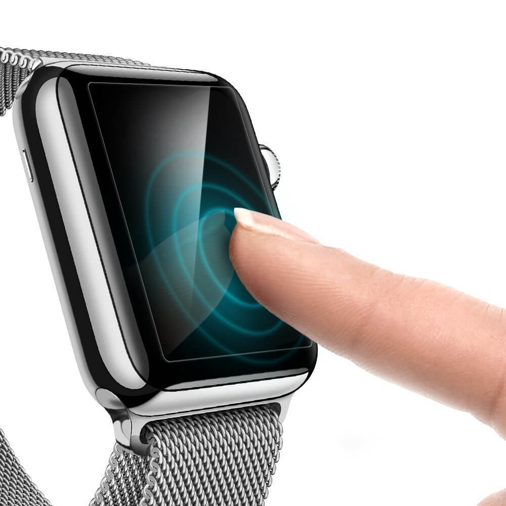 Spigen® [x3Pack] Crystal™ 048FL20994 Apple Watch Series 3/2/1 (42mm) Premium Screen Protector