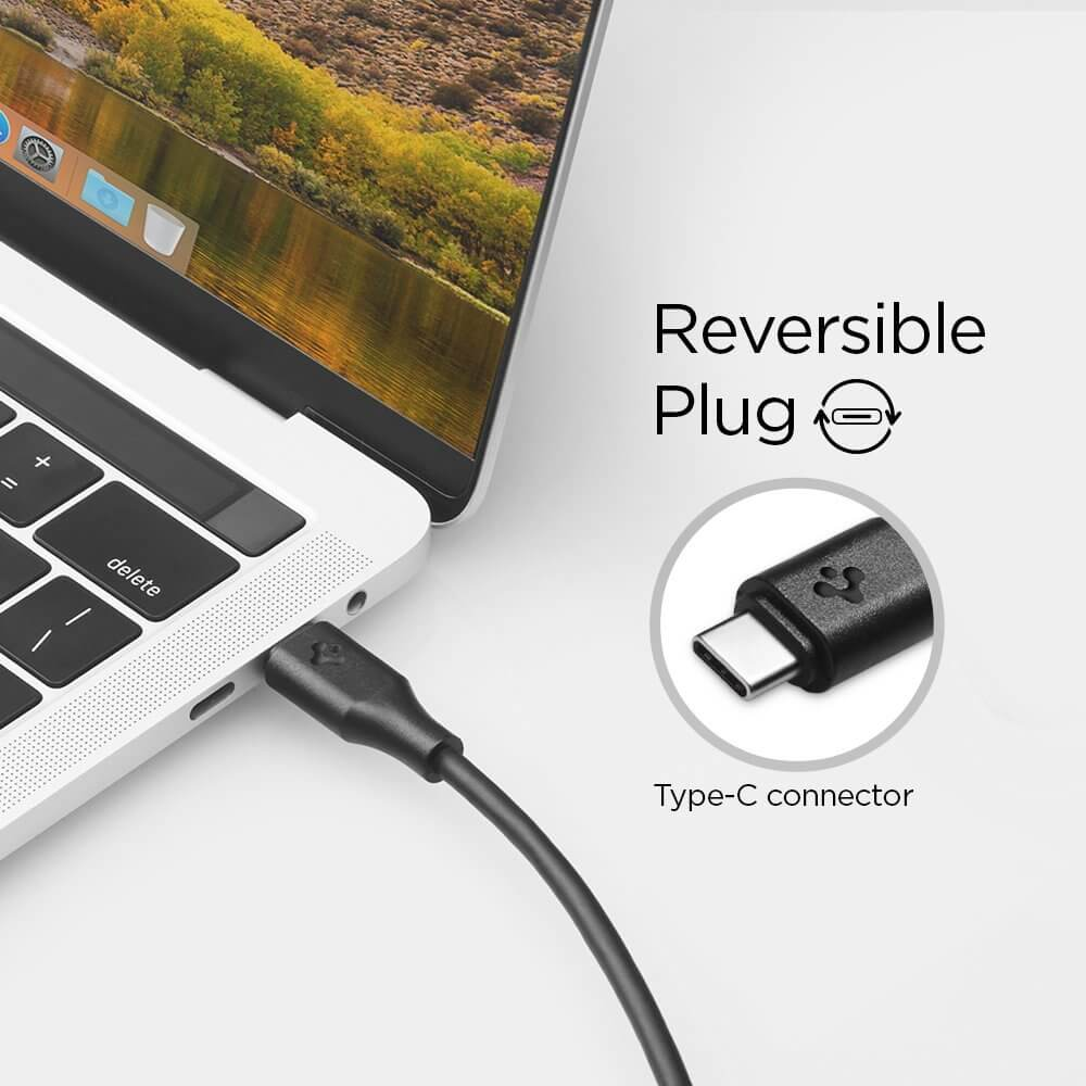 Spigen® Essential® C20CH 000CB22527 USB-C to HDMI Cable (4K Ultra HD Thunderbolt 3)
