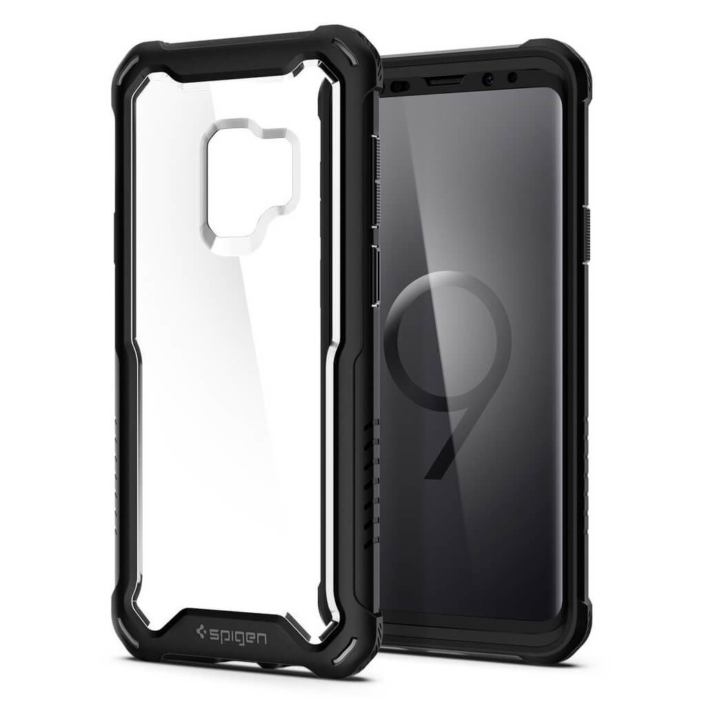 Spigen® Hybrid™ 360 592CS23039 Samsung Galaxy S9 Case - Black