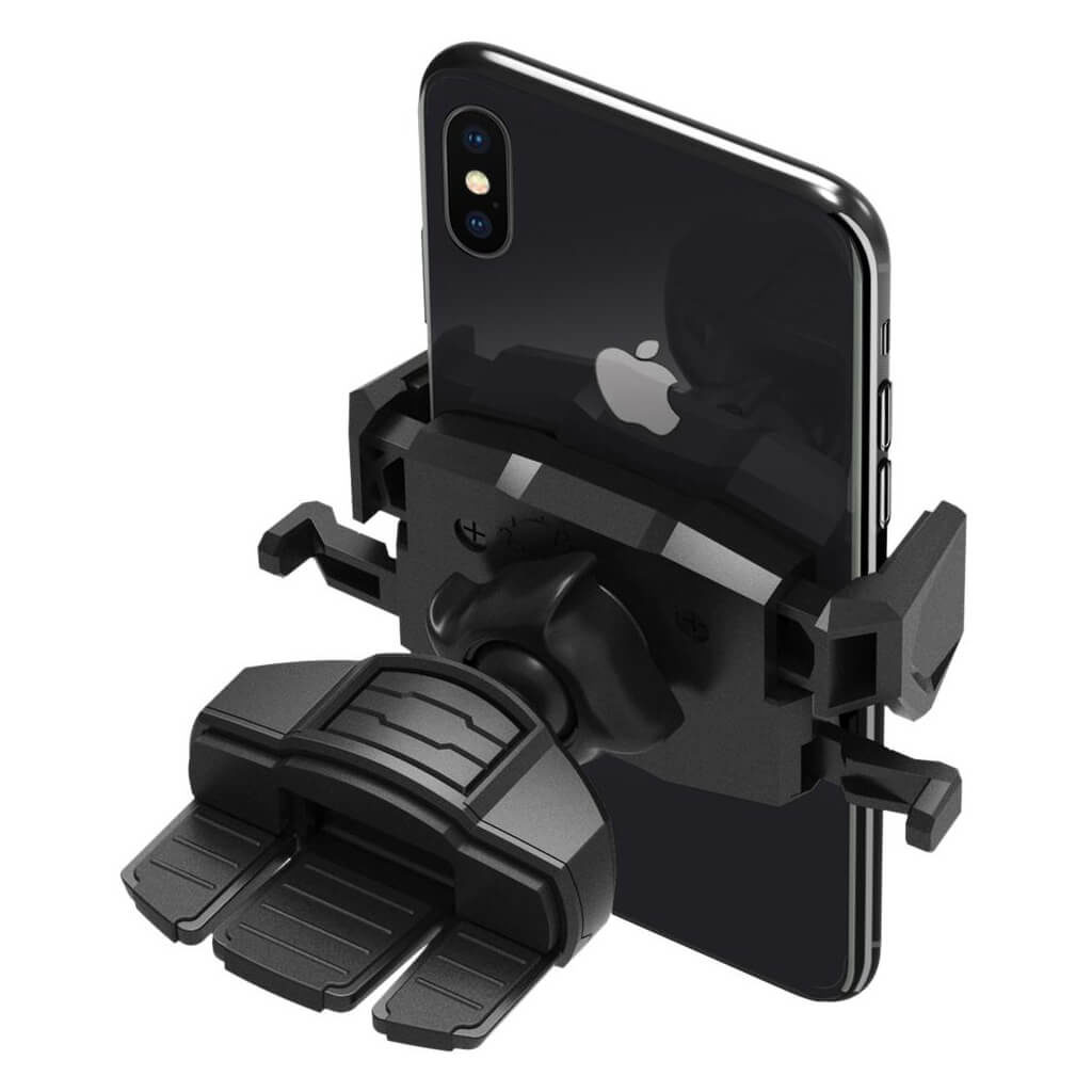 Spigen® Kuel® TMS24 000CG21945 One Tap CD Slot Car Mount