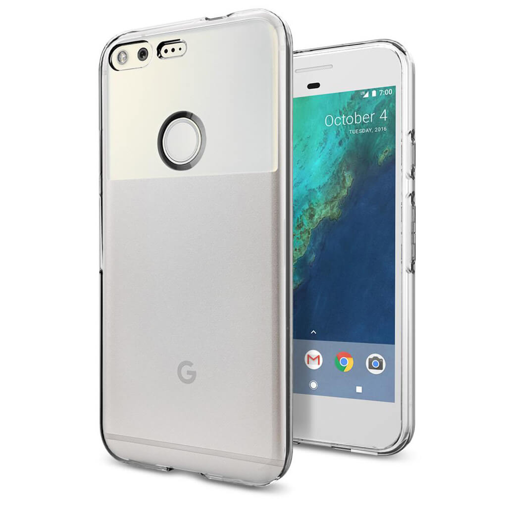 Spigen® Liquid Crystal™ F14CS20890 Google Pixel Case - Crystal Clear