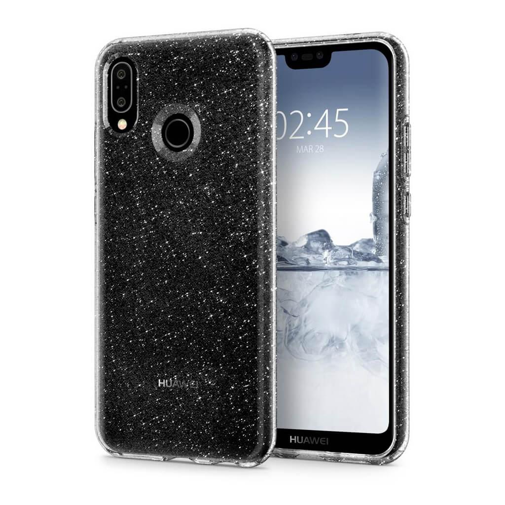 Spigen® Liquid Crystal Glitter™ L22CS23074 Huawei P20 Lite Case - Crystal Quartz