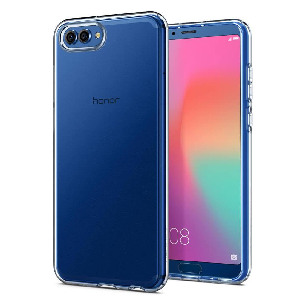 Spigen® Liquid Crystal™ L25CS23970 Huawei Honor View 10 Case - Crystal Clear