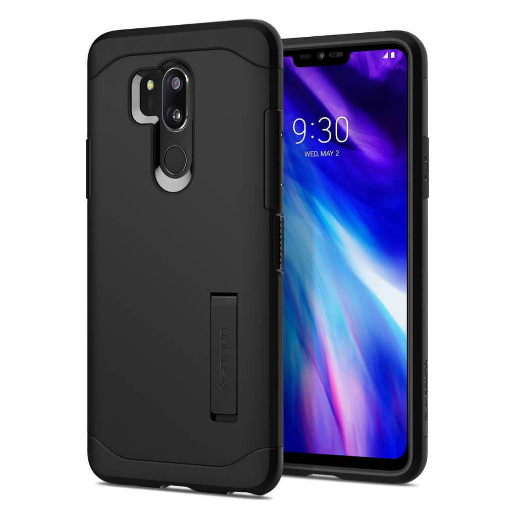 Spigen® Slim Armor™ A27CS23030 LG G7 ThinQ Case - Black