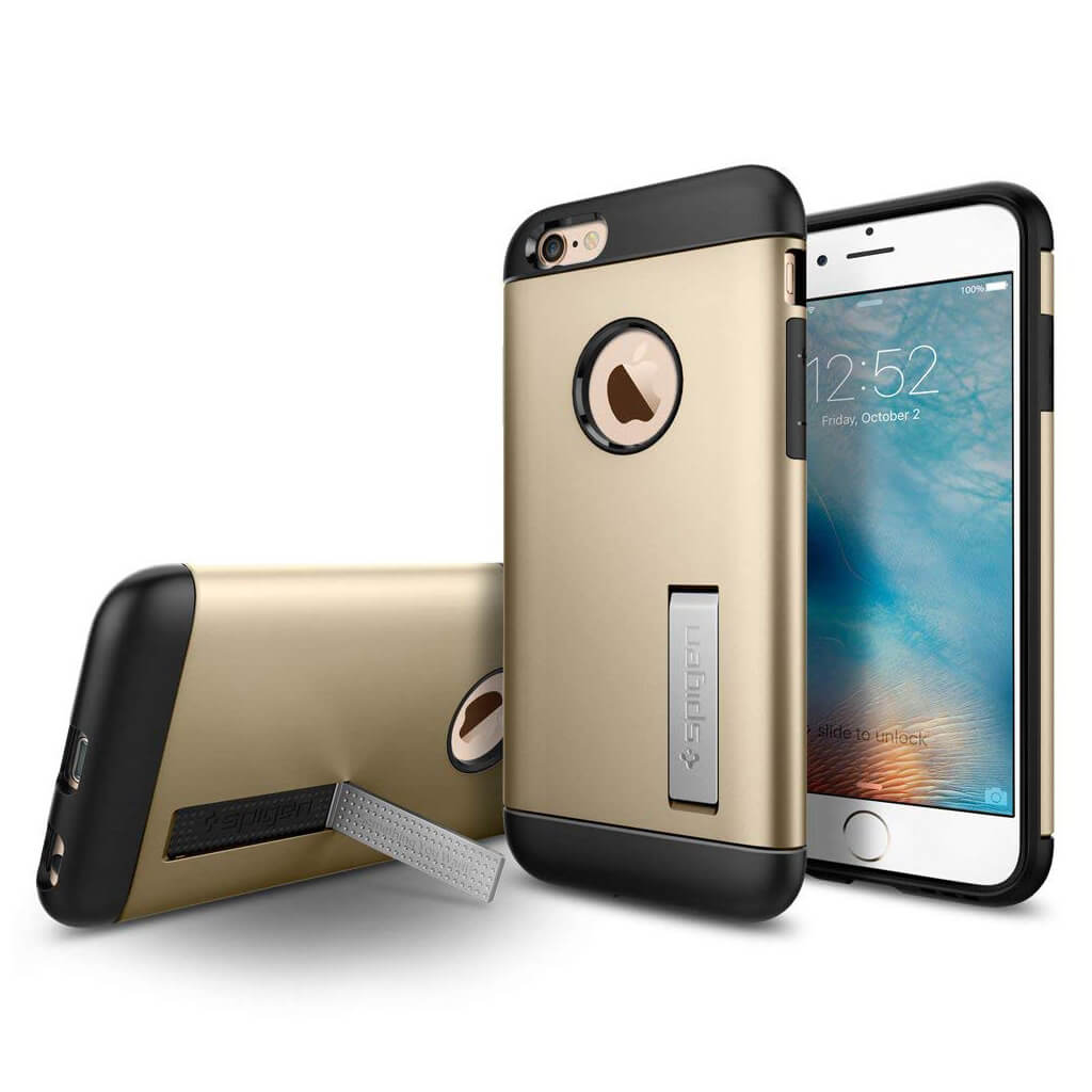 Spigen® Slim Armor™ SGP11607 iPhone 6 / 6s Case - Champagne Gold