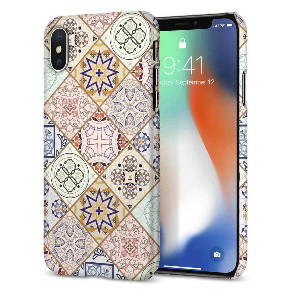 Spigen® Thin Fit™ 057CS22624 iPhone X Case - Arabesque
