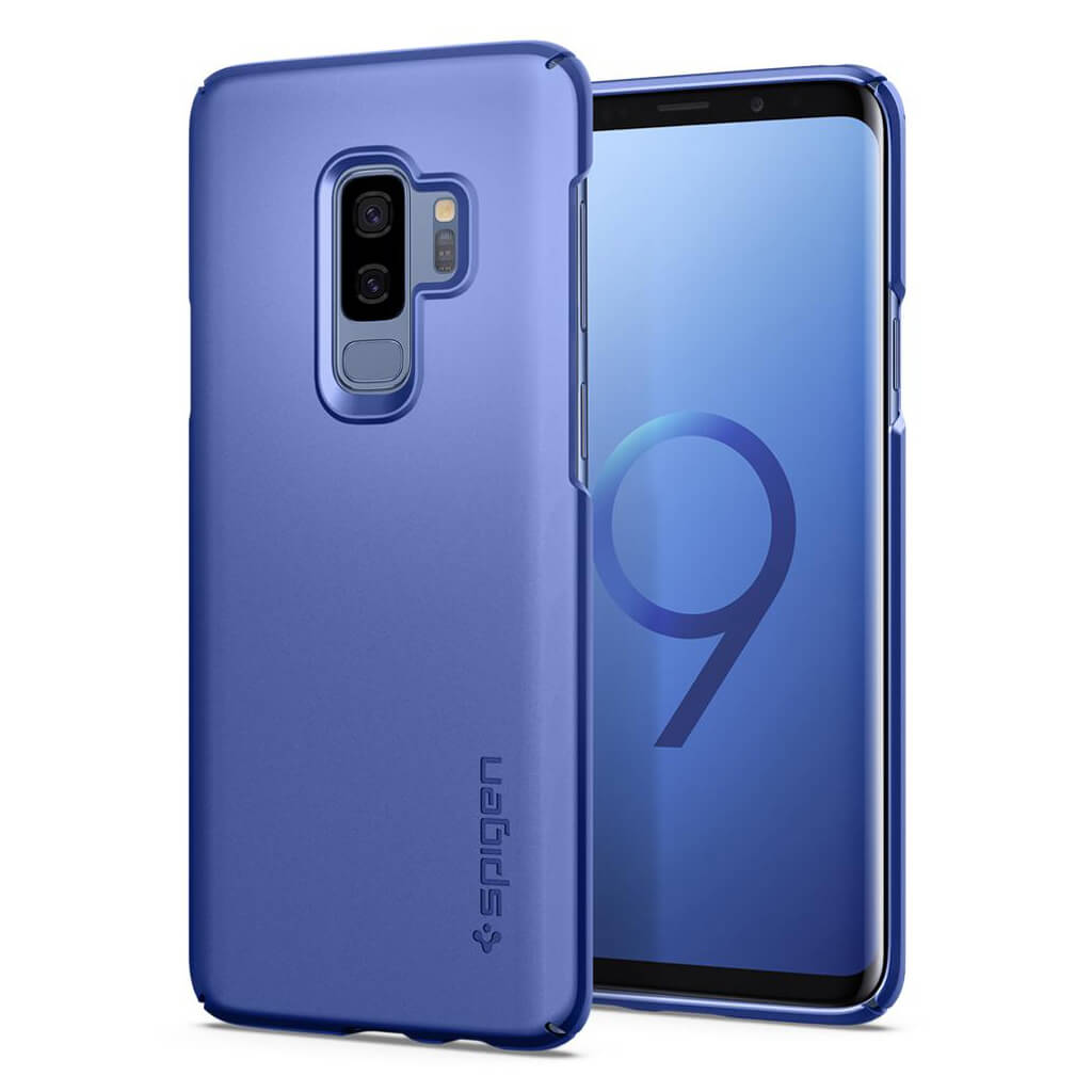 spigen thin fit 593cs22909 samsung galaxy s9 plus case. Black Bedroom Furniture Sets. Home Design Ideas