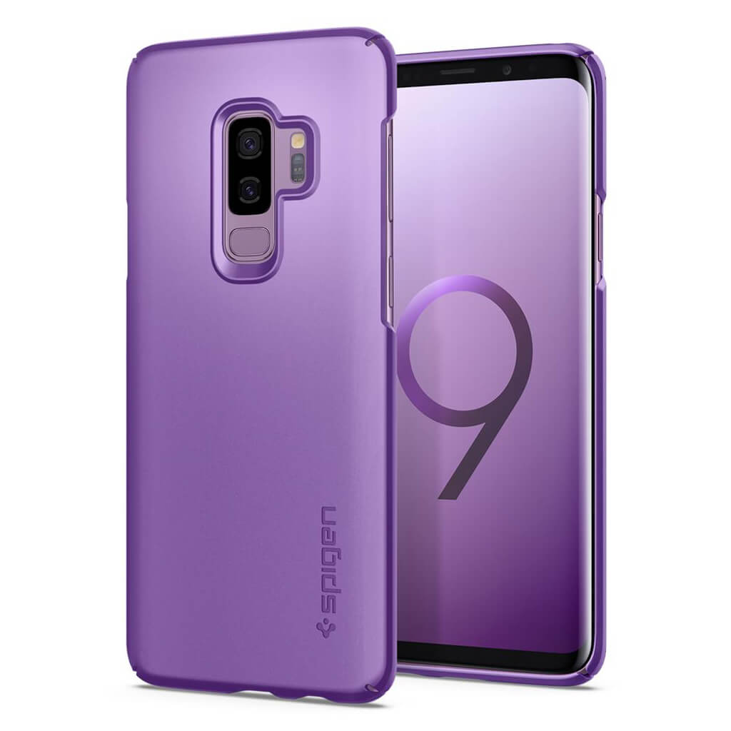 Spigen® Thin Fit™ 593CS22911 Samsung Galaxy S9+ Plus Case - Lilac Purple