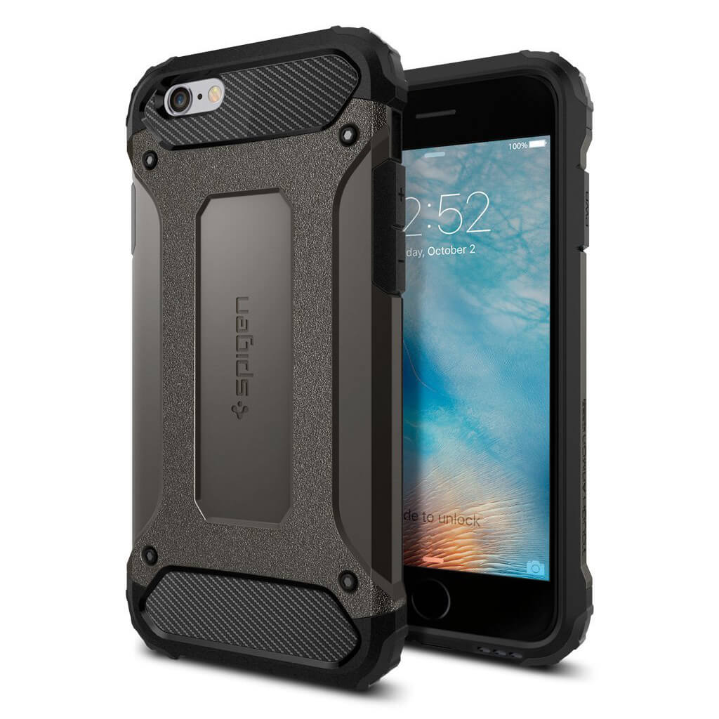 Spigen® Tough Armor Tech™ SGP11742 iPhone 6 / 6s Case - Gunmetal