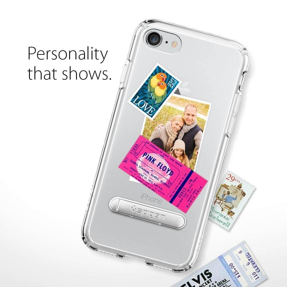 Spigen® Ultra Hybrid S™ 042CS20753 iPhone 8 / 7 Case - Crystal Clear