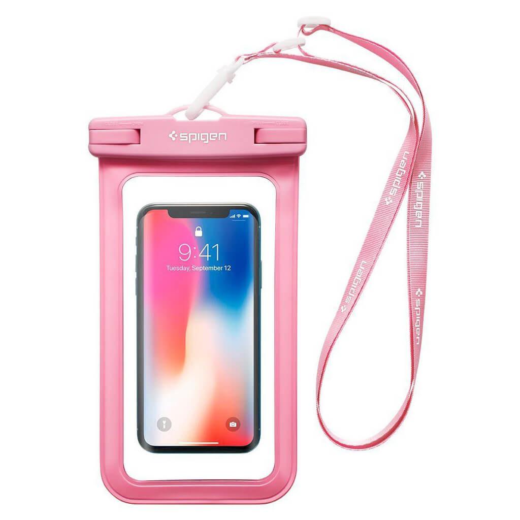 Spigen® Velo™ A600 000EM23355 IPX8 Certified Universal Waterproof Case - Pink