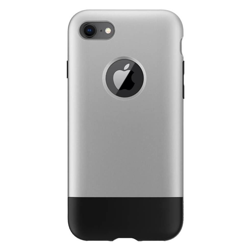 Spigen® Classic One™ 054CS24406 iPhone 8 / 7 10th Year Anniversary Limited Edition Case - Aluminum Gray