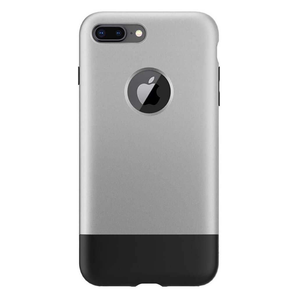 Spigen® Classic One™ 055CS24412 iPhone 8 Plus / 7 Plus 10th Year Anniversary Limited Edition Case - Aluminum Gray