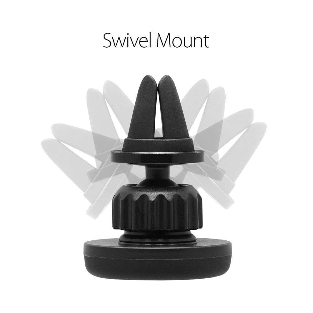Spigen® Kuel® Q12 000CG21943 Magnetic Air Vent Car Mount - Black