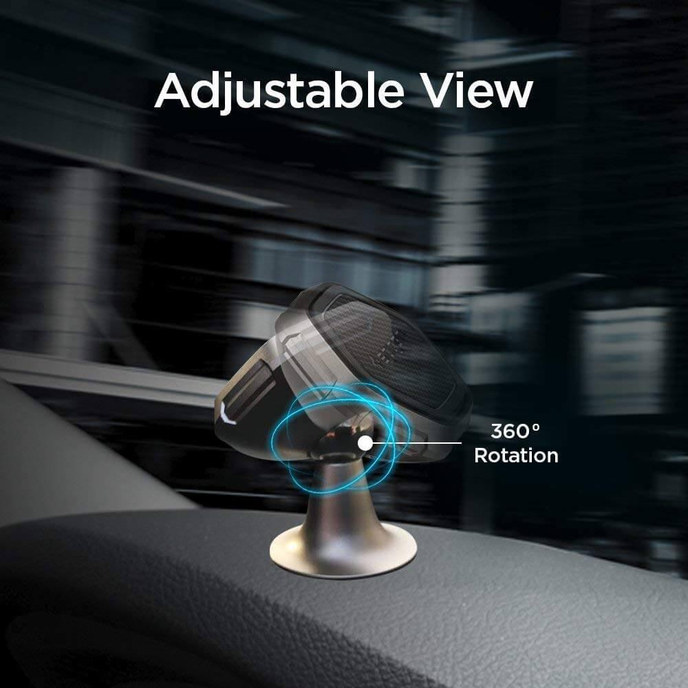 Spigen® Kuel® QS40 000CG22760 Metal Body Quad Magnetic Car Mount Holder