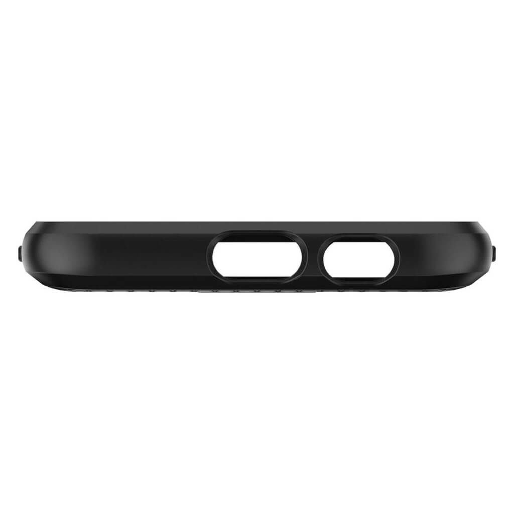 Spigen® Liquid Air™ 596CS24093 Samsung Galaxy A6 (2018) Case - Black