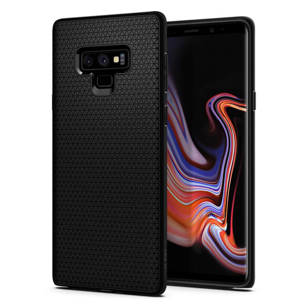 Spigen® Liquid Air™ 599CS24580 Samsung Galaxy Note 9 Case - Matte Black