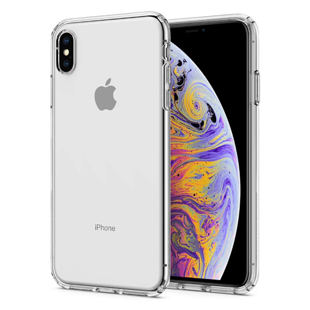 Spigen® Liquid Crystal™ 065CS25122 iPhone XS Max Case - Crystal Clear