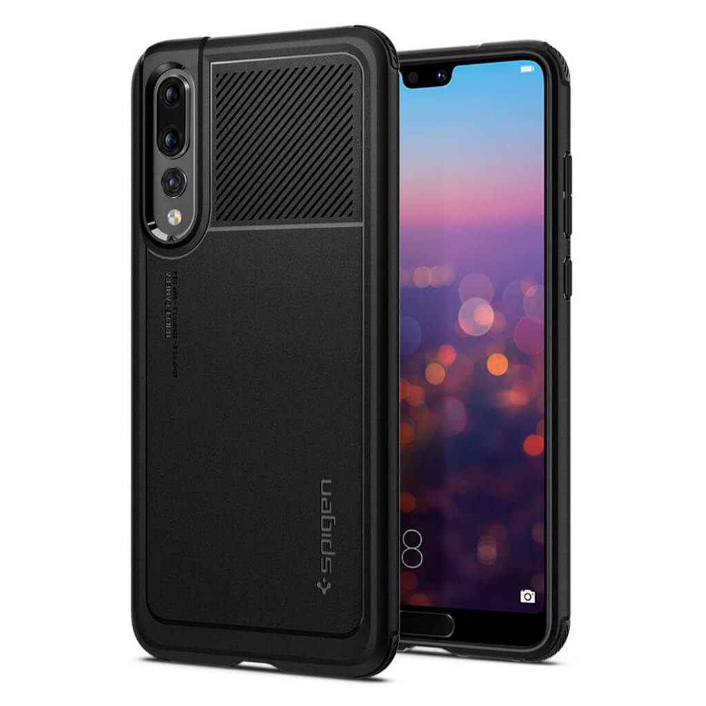 Spigen® Marked Armor™ L23CS24400 Huawei P20 Pro Case - Black