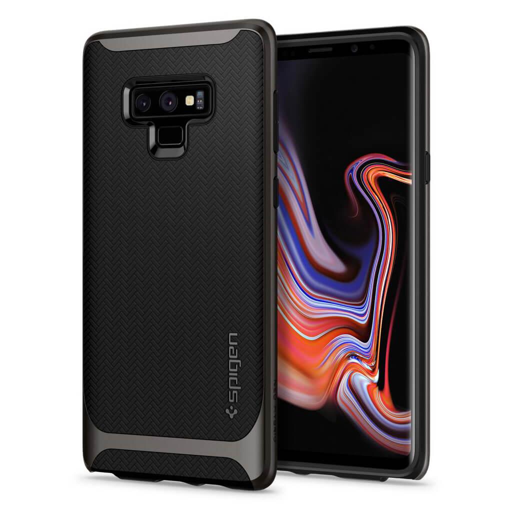 Spigen® Neo Hybrid™ 599CS24577 Samsung Galaxy Note 9 Case - Gunmetal