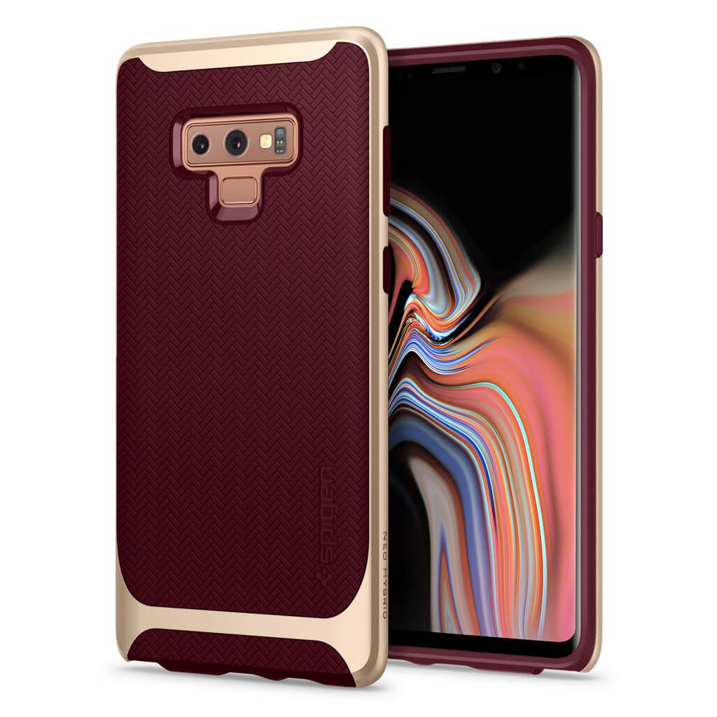 Spigen® Neo Hybrid™ 599CS24592 Samsung Galaxy Note 9 Case - Burgundy