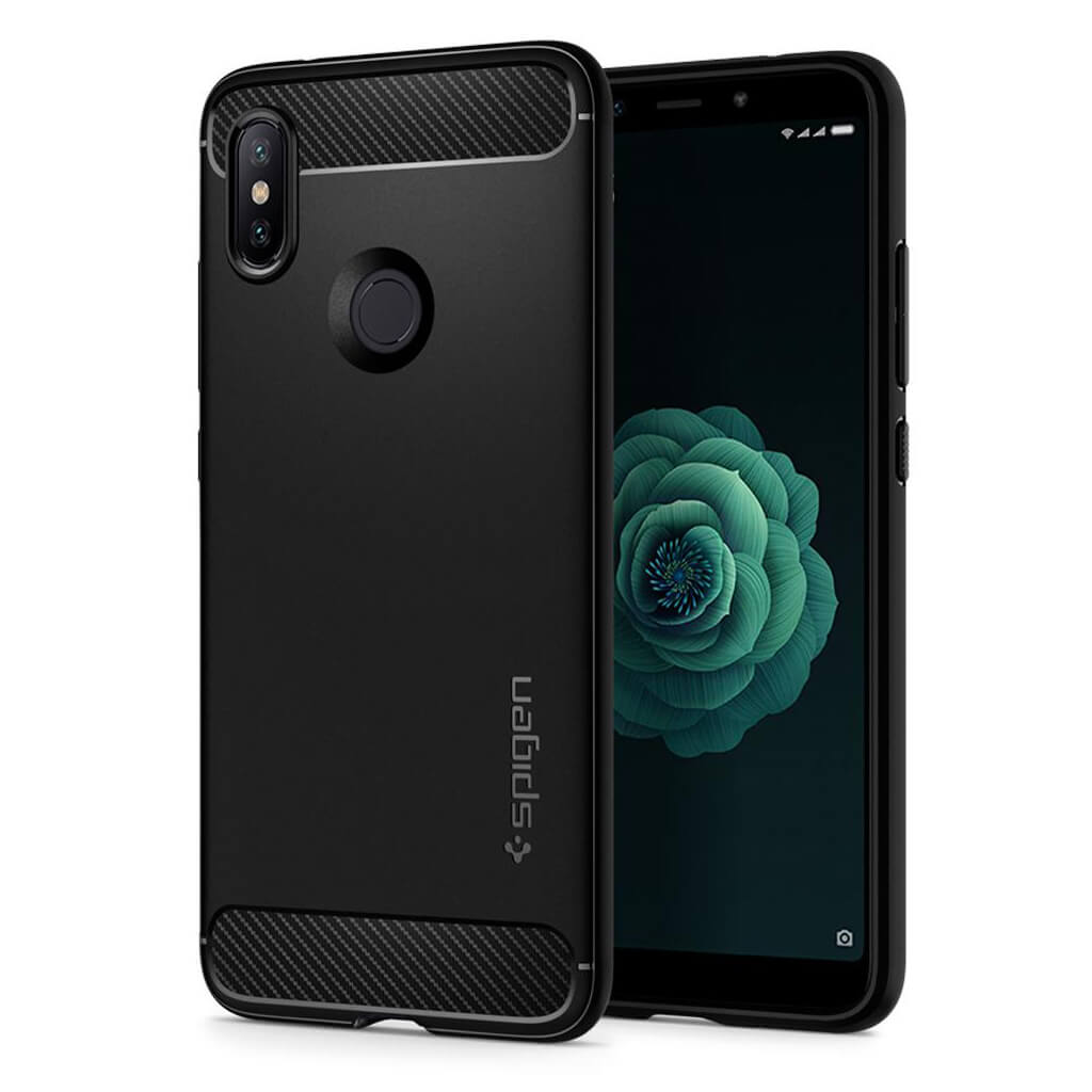 Spigen® Rugged Armor™ S13CS24394 Xiaomi Mi A2 / 6X Case - Black