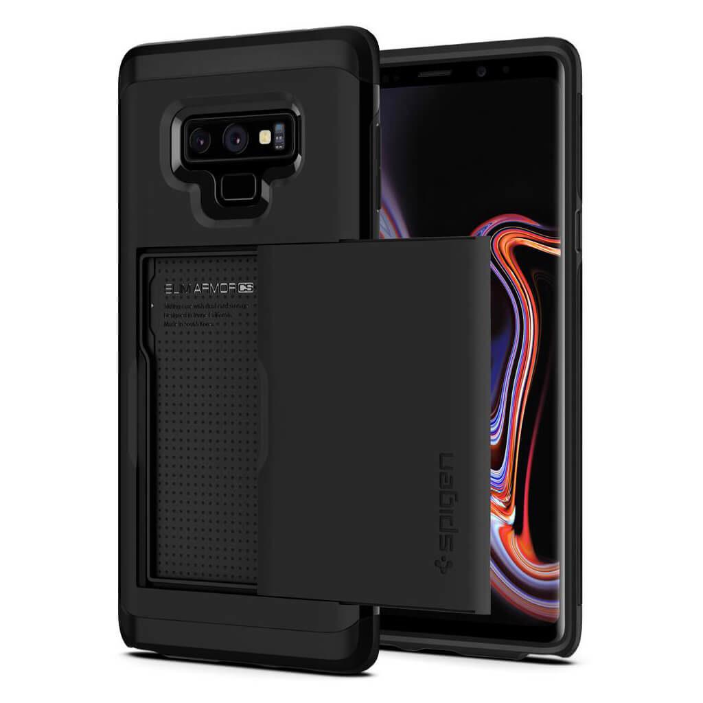 1d1ed17482 Spigen® Slim Armor CS™ 599CS24624 Samsung Galaxy Note 9 Case - Black ...