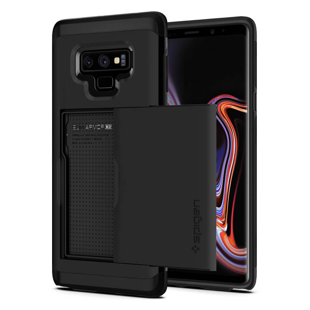 Spigen® Slim Armor CS™ 599CS24624 Samsung Galaxy Note 9 Case - Black