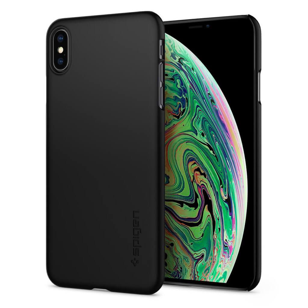 Spigen® Thin Fit™ 065CS24824 iPhone XS Max Case - Black