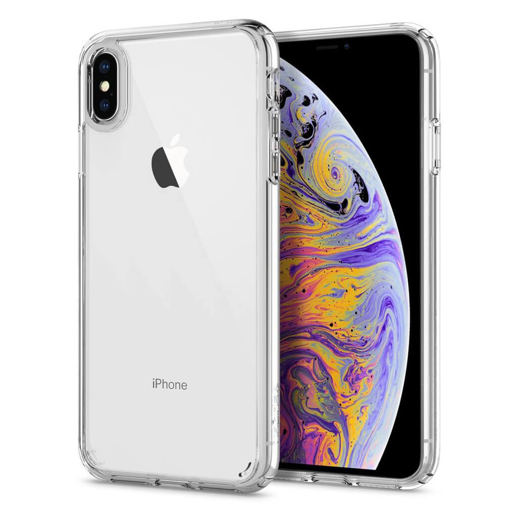 Spigen® Ultra Hybrid™ 065CS25127 iPhone XS Max Case - Crystal Clear
