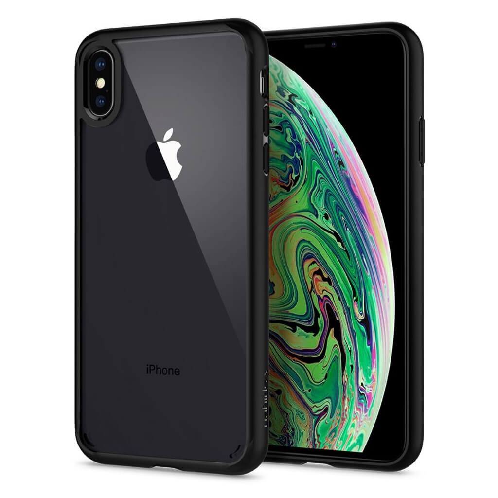 Spigen® Ultra Hybrid™ 065CS25128 iPhone XS Max Case - Matte Black