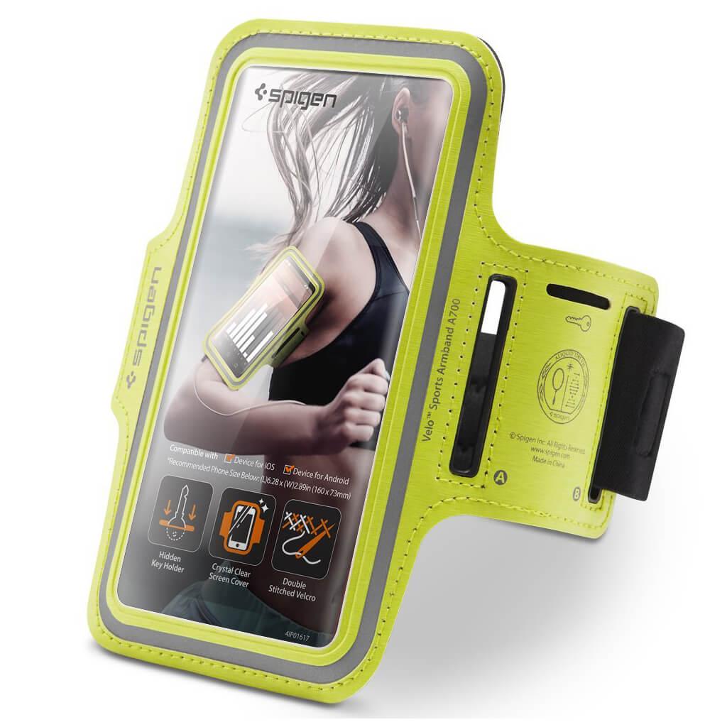 Spigen® Velo™ A700 000EM23990 Sports Armband - Neon