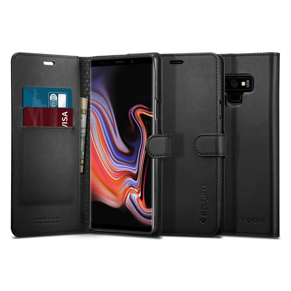 Spigen® Wallet S™ 599CS24579 Samsung Galaxy Note 9 Case - Black